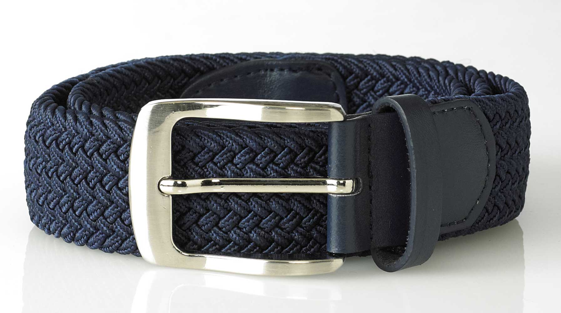 DUKE LONDON METAL TIP END BELT 3.0CM WIDTH IN WAIST 32 TO 42 INCHES