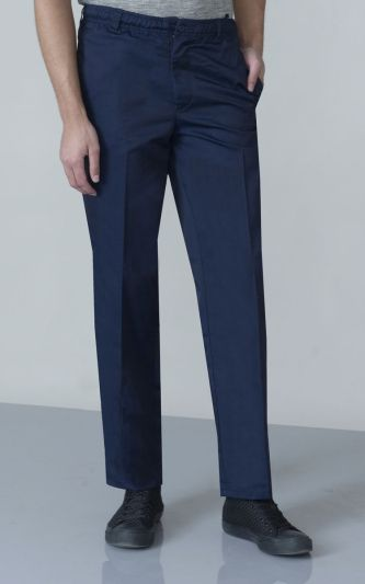 Duke Mens Robert-D555 Peached And Washed Cotton Cargo Trousers DC227